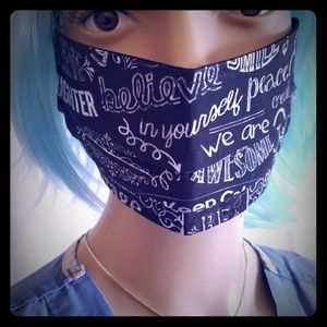 Protective Facemask- The Optimist (NWOT)
